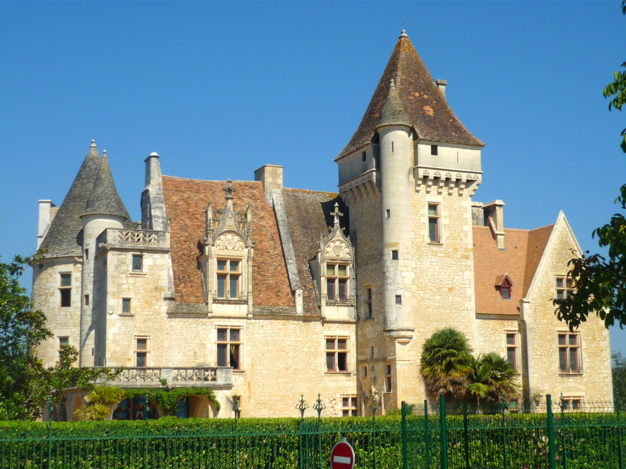 Castle of Les Milandes © French Moments