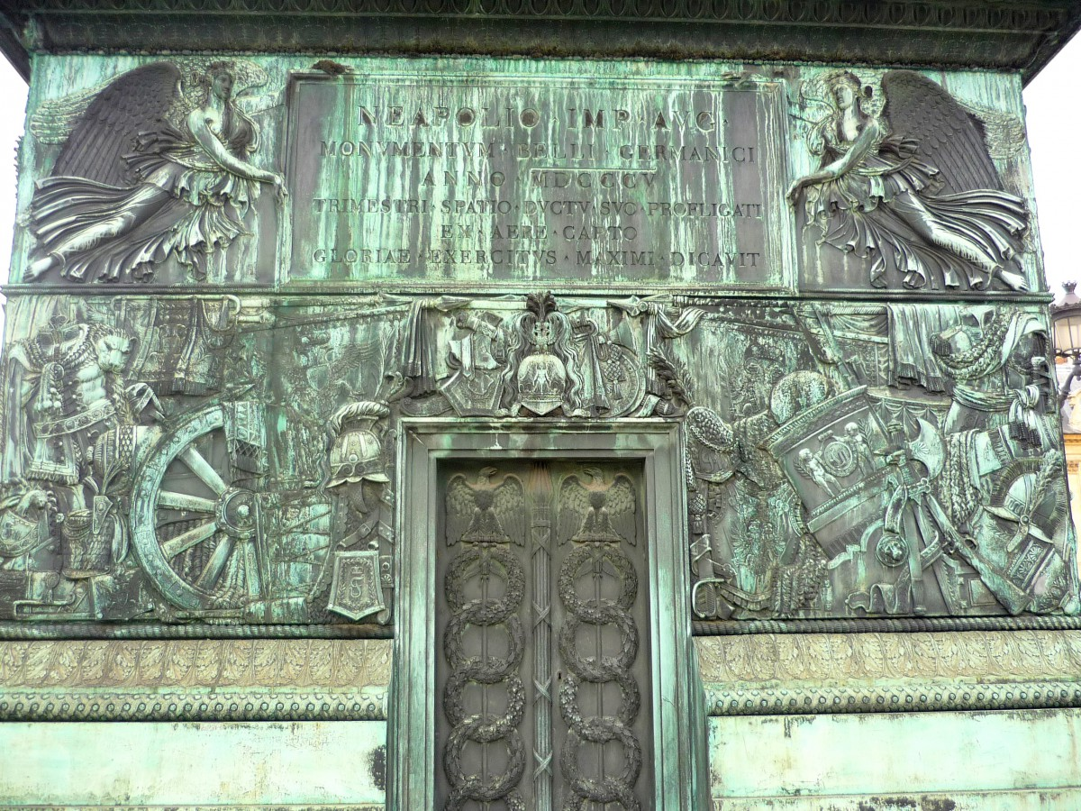 The door of the Vendôme column © French Moments