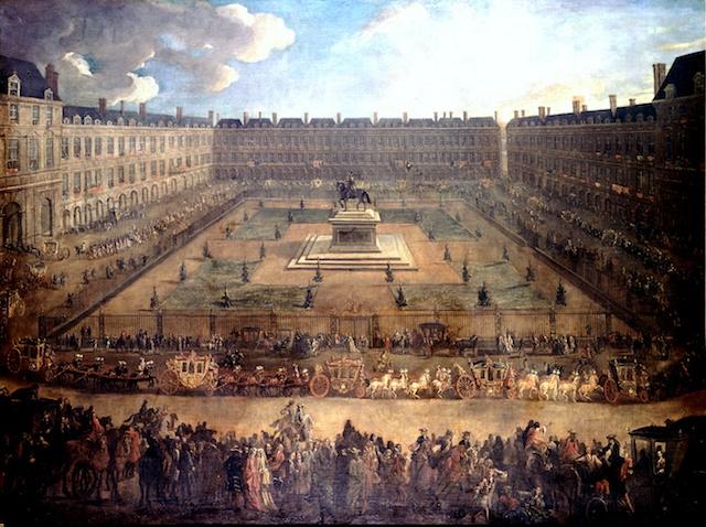 Place des Vosges in 1709