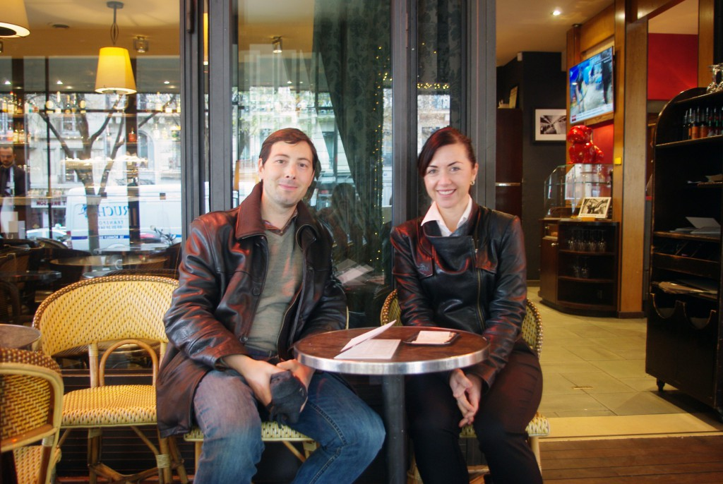 Pierre and Kristy from Sydney, Australia after a Paris Walking Tours © French Moments