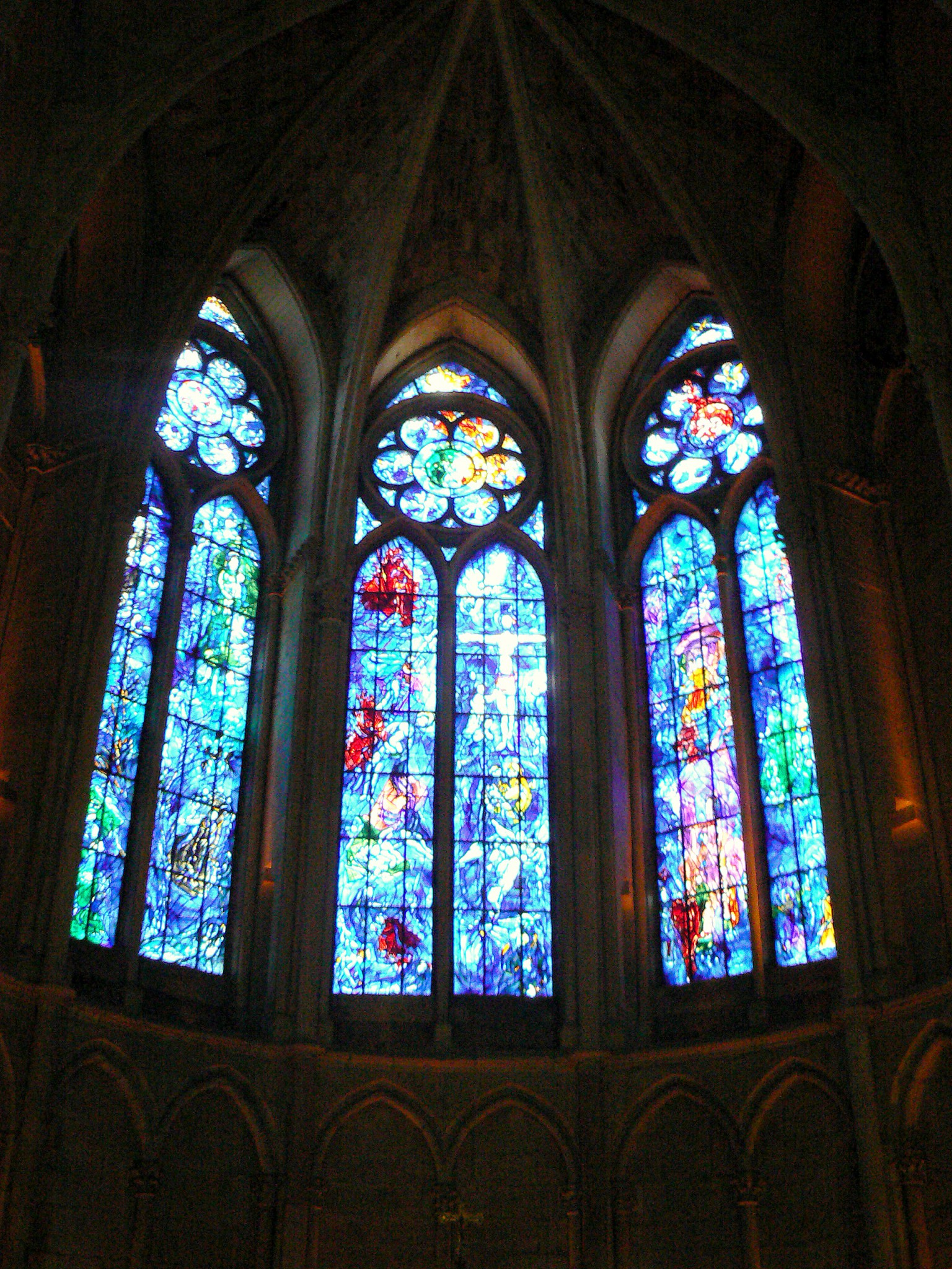 Marc Chagall's stained-glass windows © French Moments