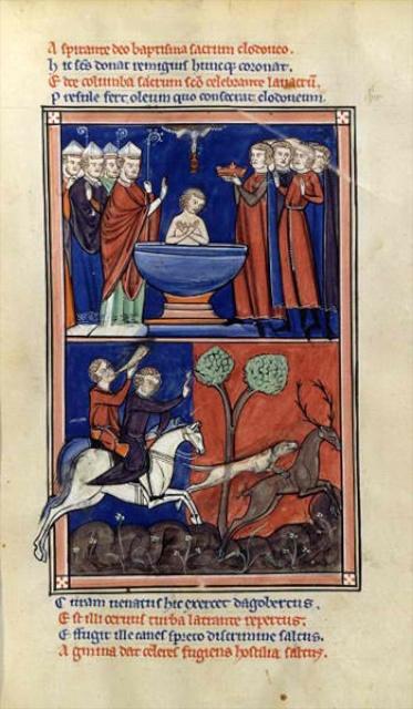 Baptism of Clovis in Reims