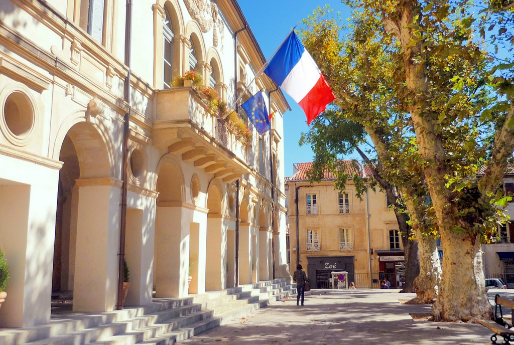 The town-hall, Place Jules Pelissier, Saint-Rémy-de-Provence © French Moments