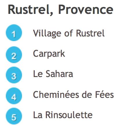 Rustrel Colorado Legend © French Moments