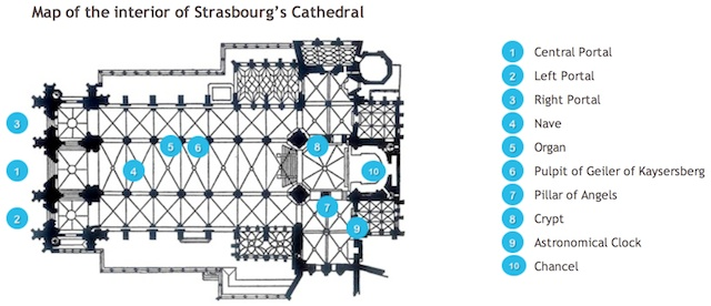 floor plan of strasbourg cathedral french moments. Black Bedroom Furniture Sets. Home Design Ideas