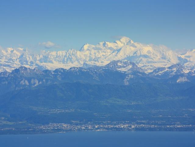 View of mont blanc and lake geneva from the jura mountains 169 jamcib