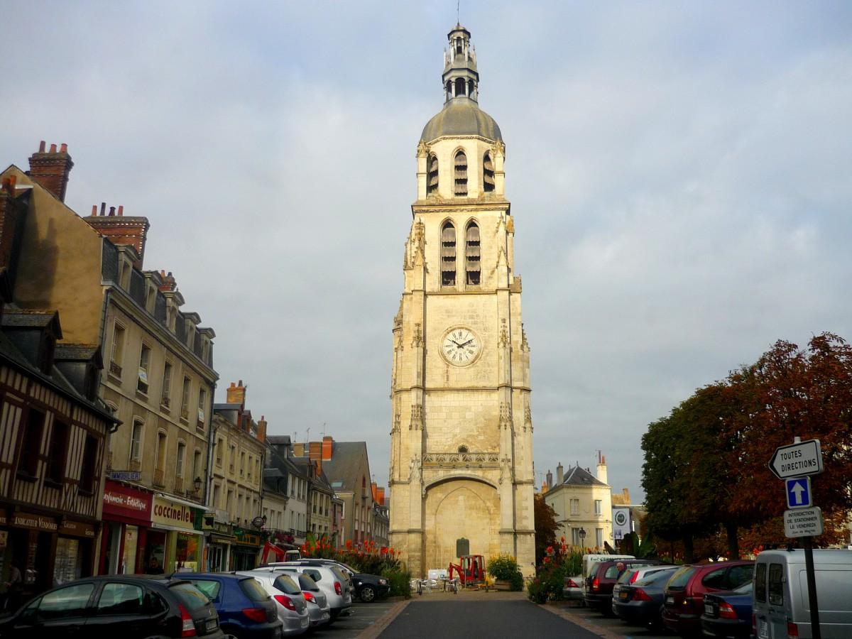 Saint Martin's belfry, Vendôme © French Moments
