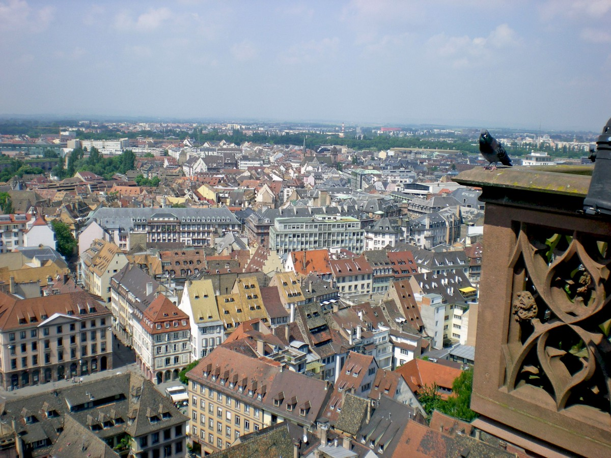 The panoramic terrace of Strasbourg Cathedral © French Moments