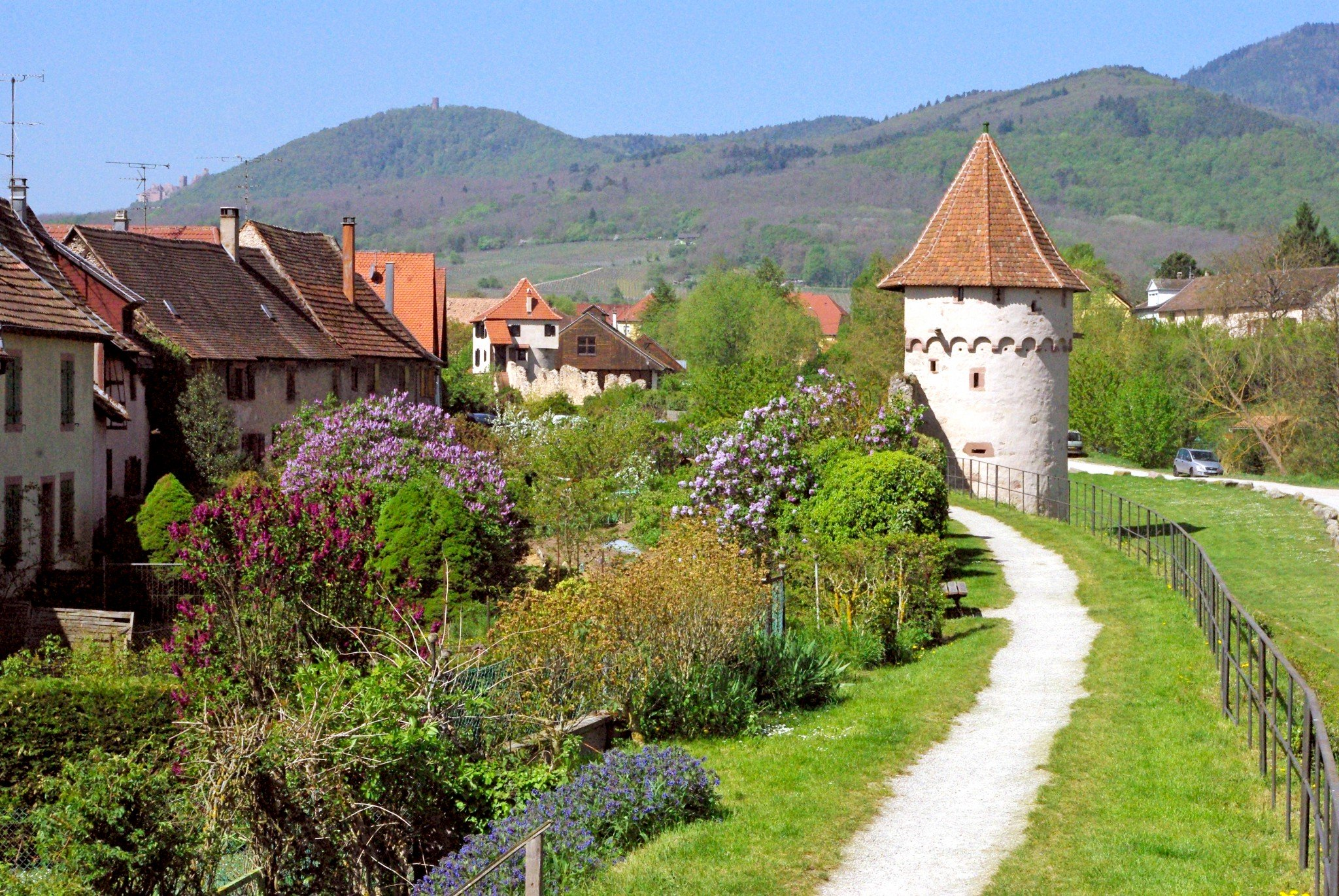 The fortifications of Bergheim © French Moments