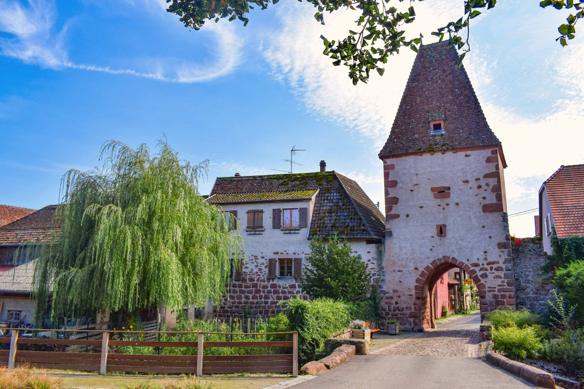 Fortified City Gates of Alsace - Tour Arrière, Bœrsch © French Moments