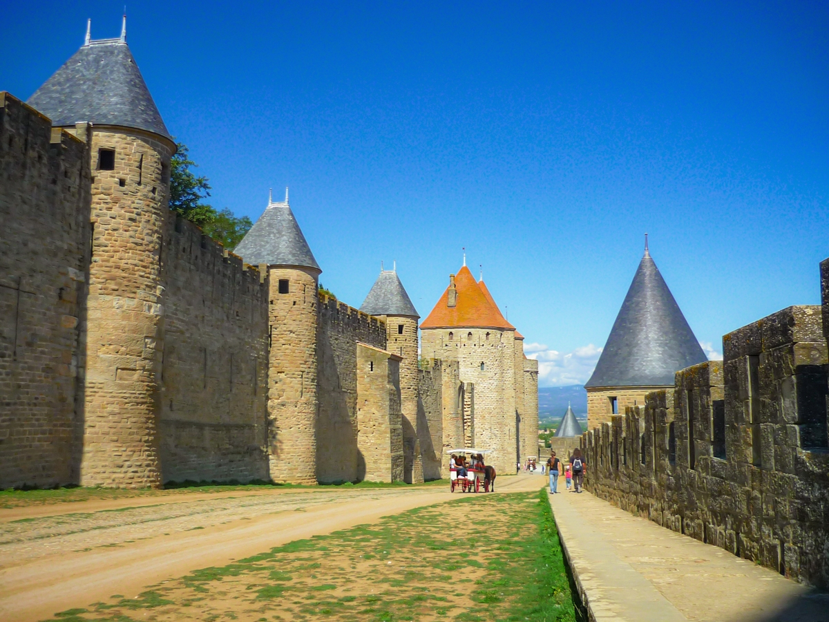 Cité of Carcassonne - The lices (or lists) of the Cité © French Moments