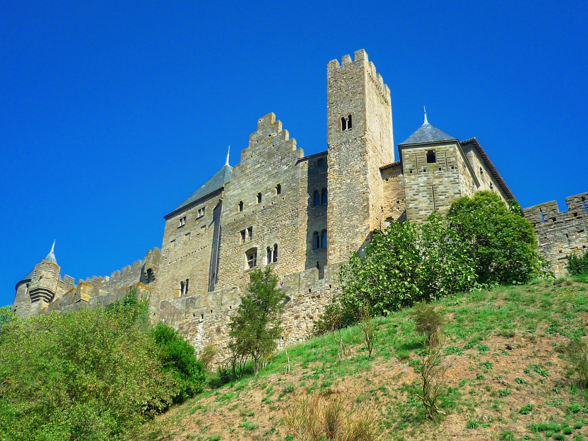 Cité of Carcassonne - Château Comtal © French Moments