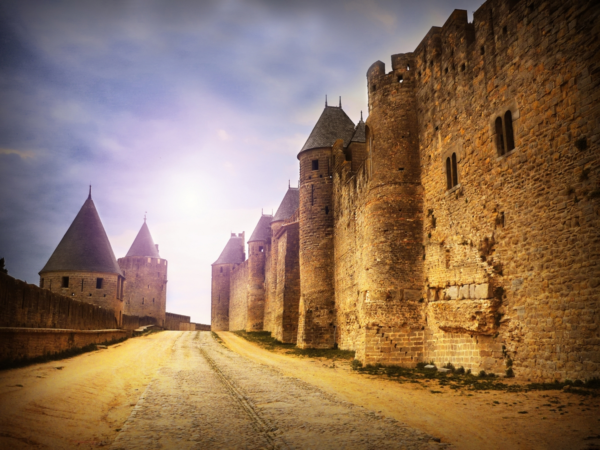 The ramparts of the Cité of Carcassonne © French Moments
