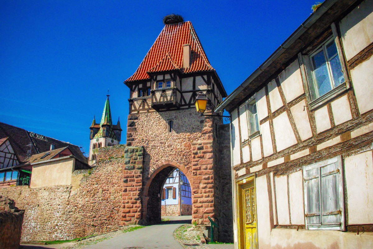 Châtenois on the Alsace Wine Route © French Moments