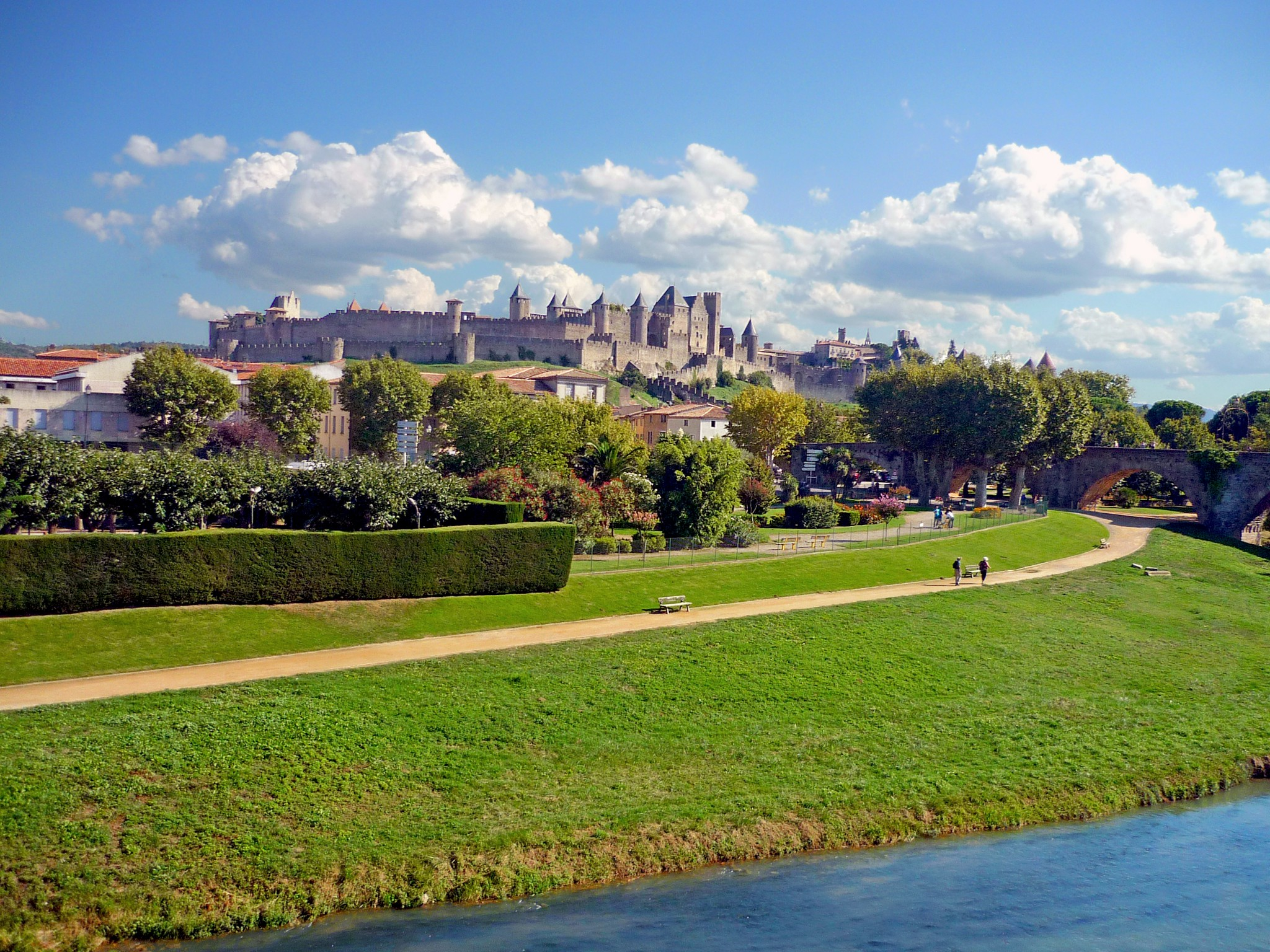 Carcassonne, castles of France © French Moments