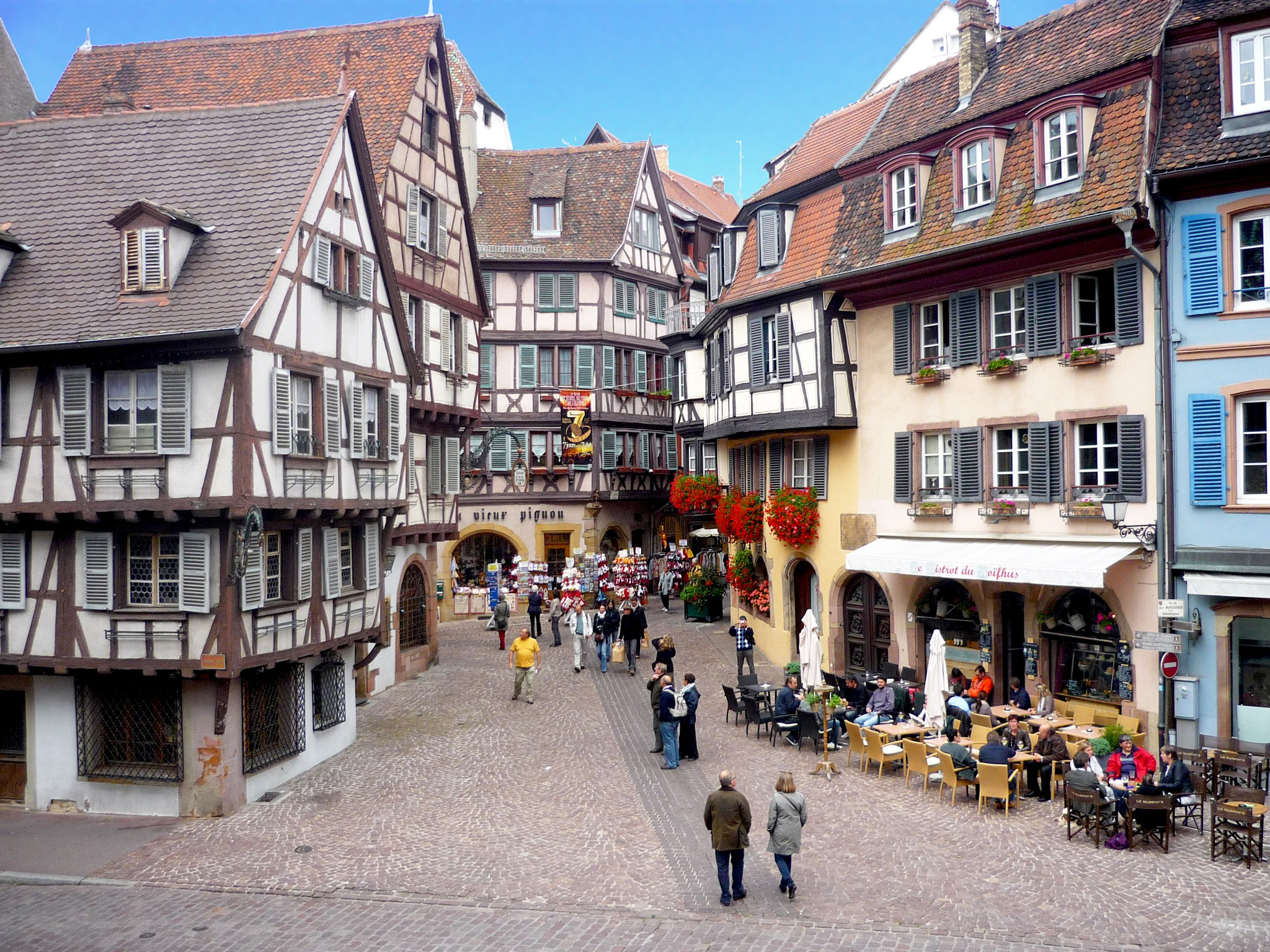 Colmar rue des marchands French Moments
