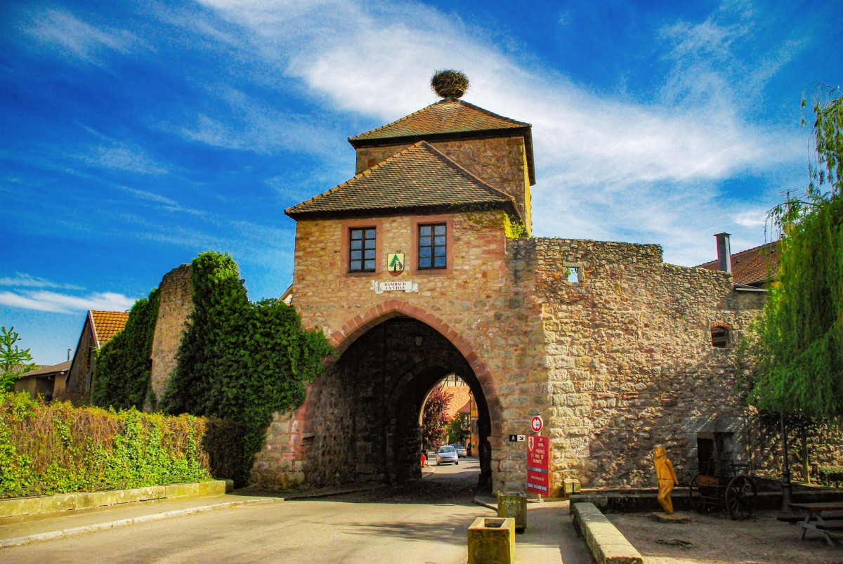 Fortified City Gates of Alsace - Porte de Blienschwiller, Dambach-la-Ville © French Moments