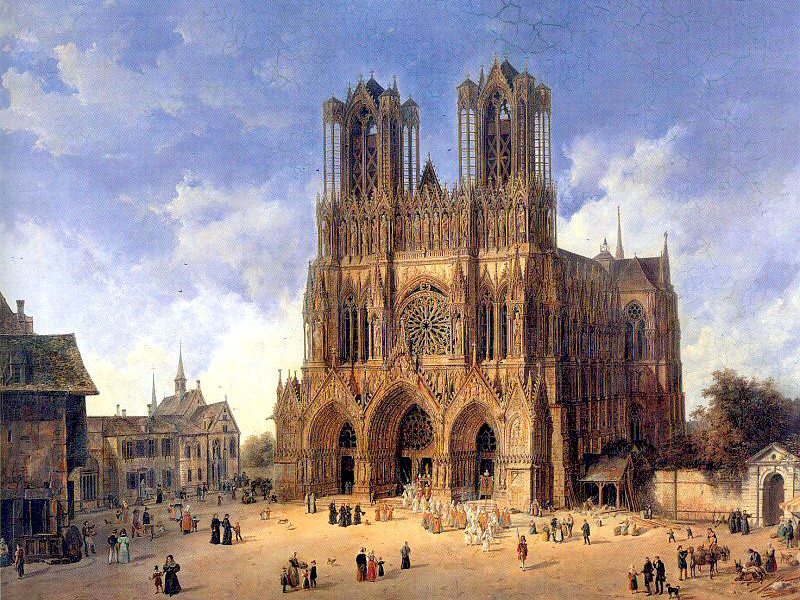 Coronation of the Kings of France in Reims Cathedral