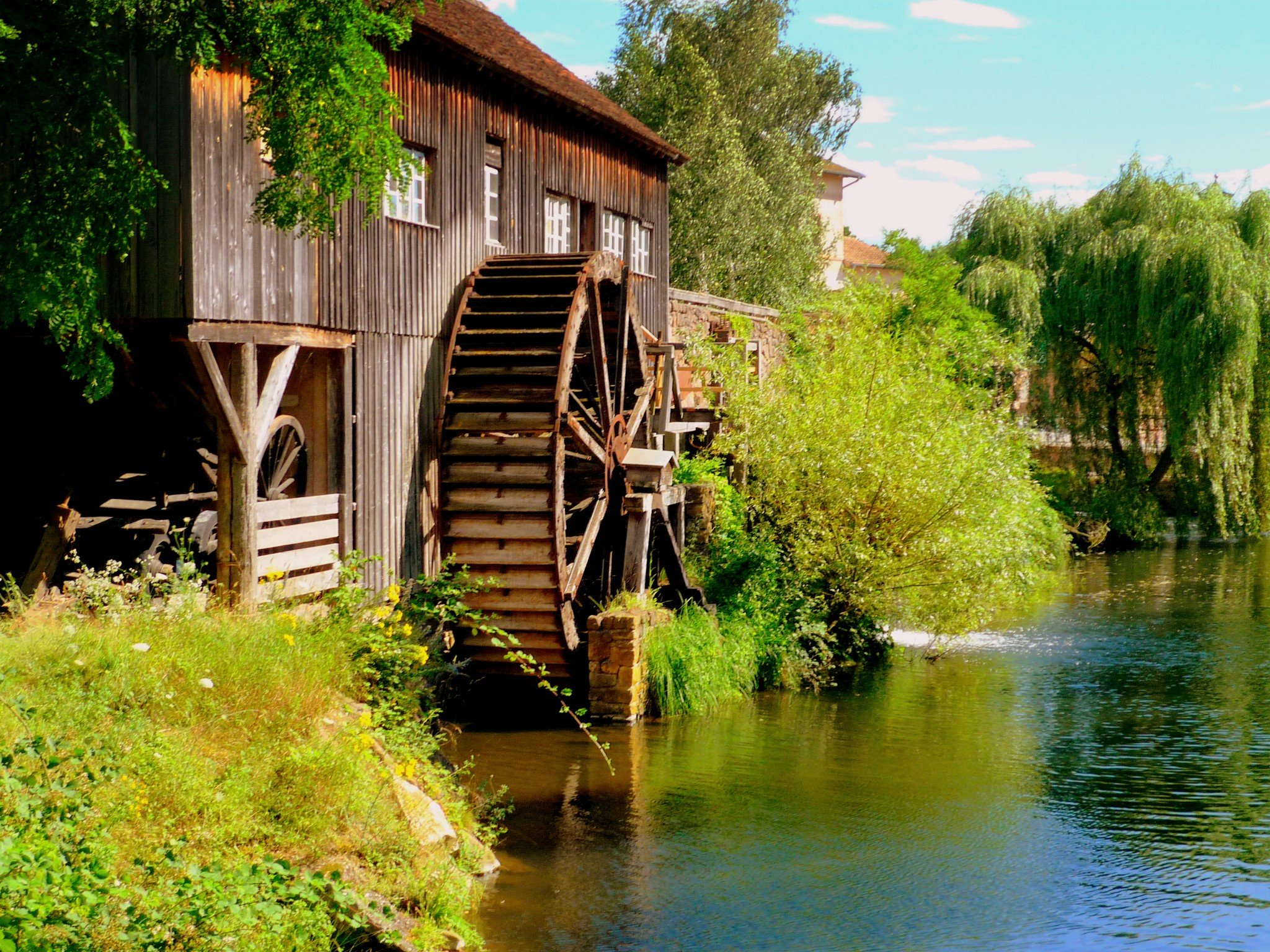 Watermill at the Ecomusée d'Alsace © French Moments