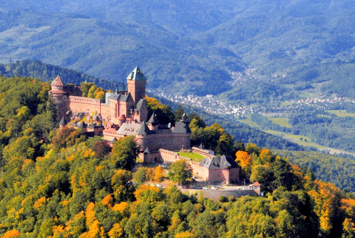 Seasons of the year in France - autumn in Alsace © French Moments