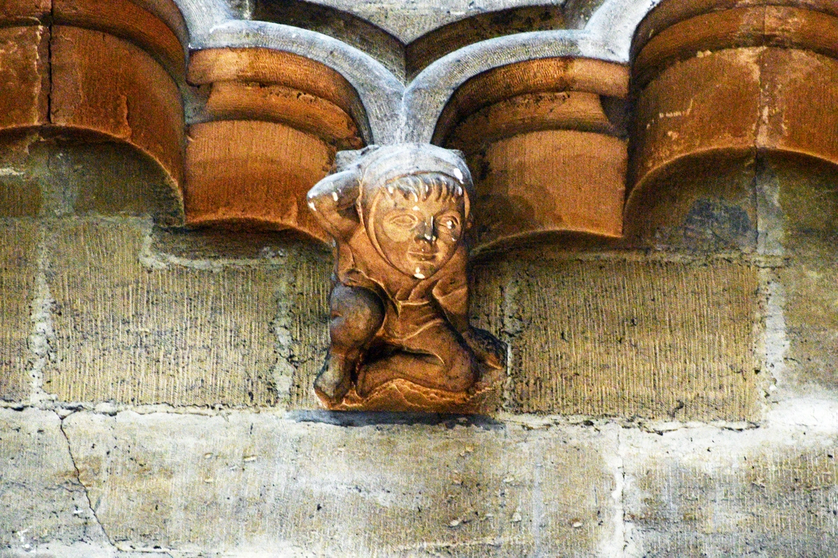 Metz Cathedral - cul-de-lampe © French Moments