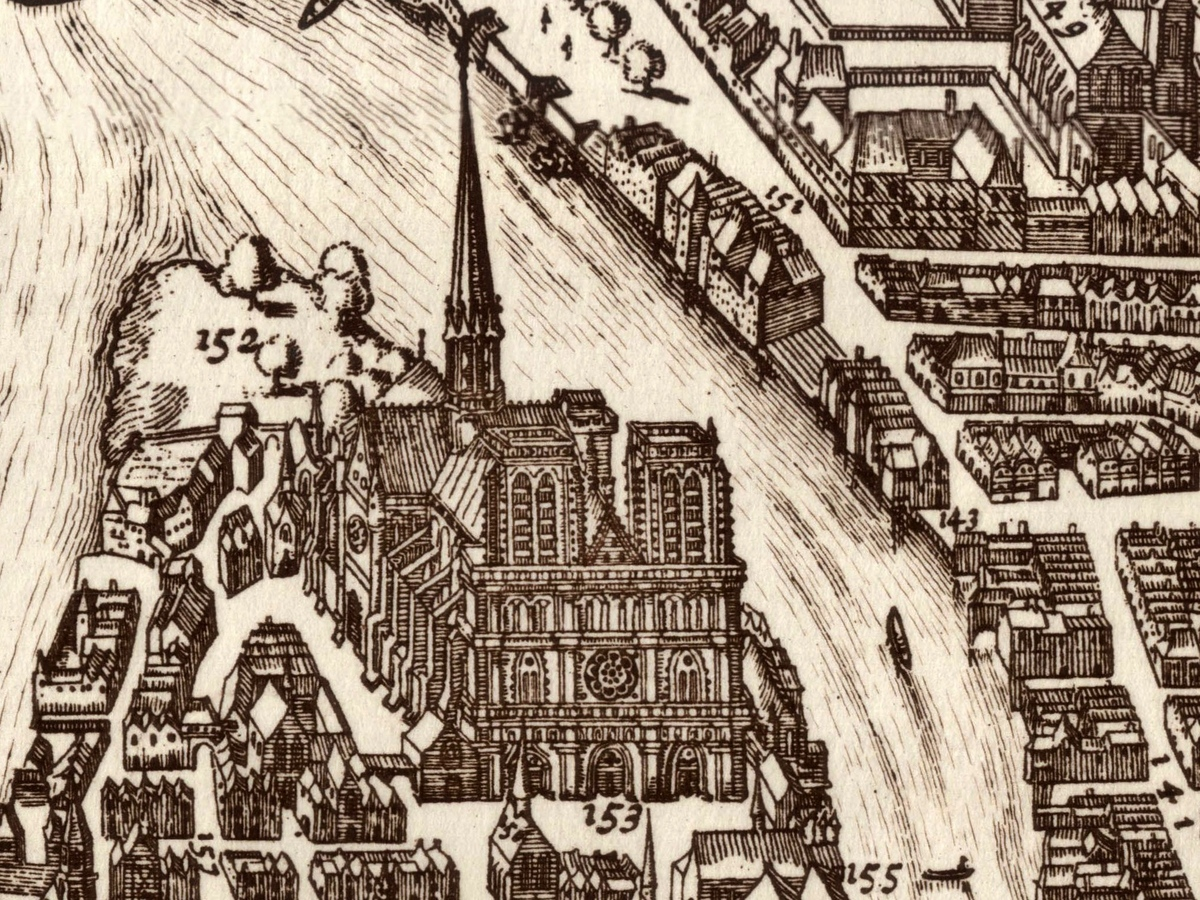 Notre-Dame in 1618