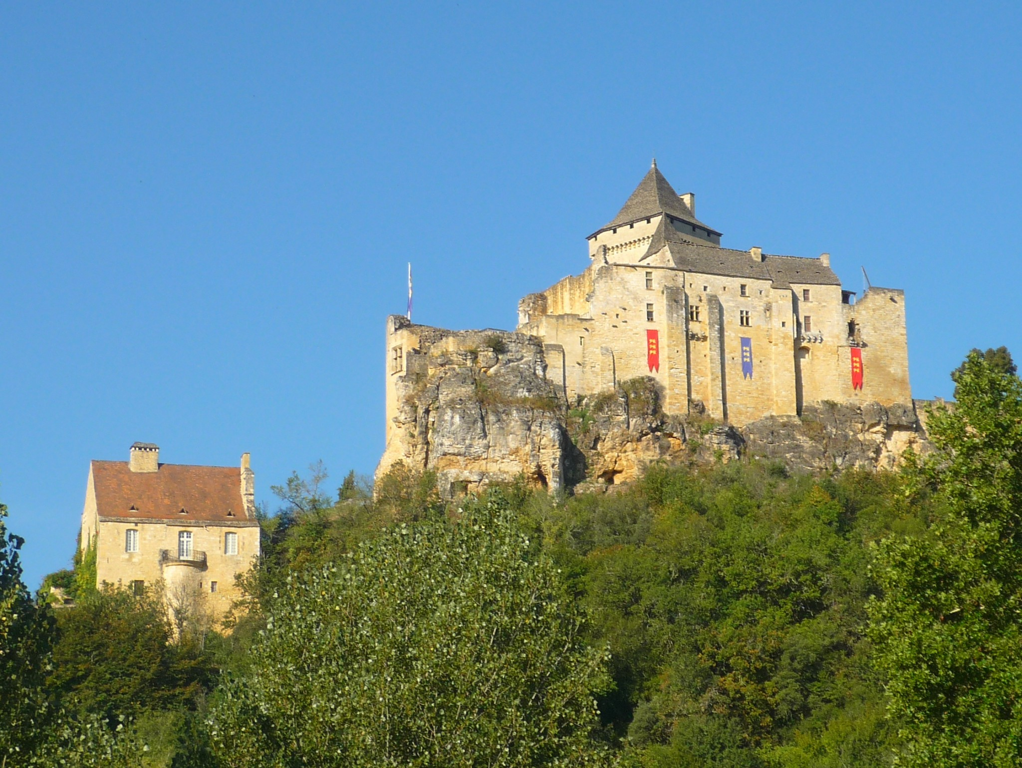 Castelnaud, castles of France © French Moments