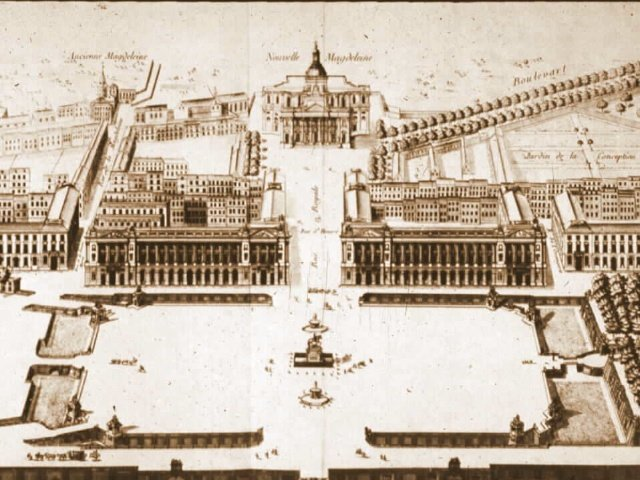 Plan of Gabriel for the Louis XV Square © French Moments