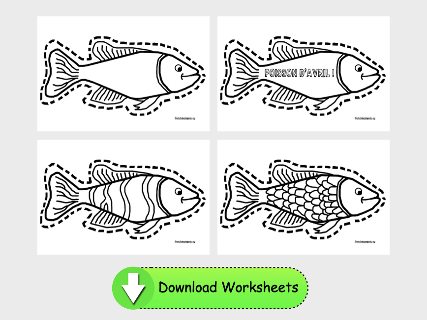 Poisson d'Avril download © French Moments