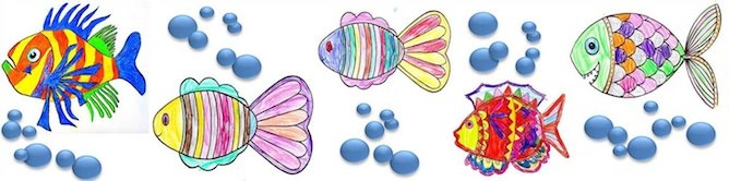 April Fools Day - Poissons d'Avril © French Moments