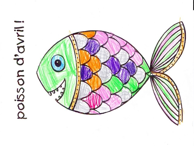 Poissons d'Avril © French Moments