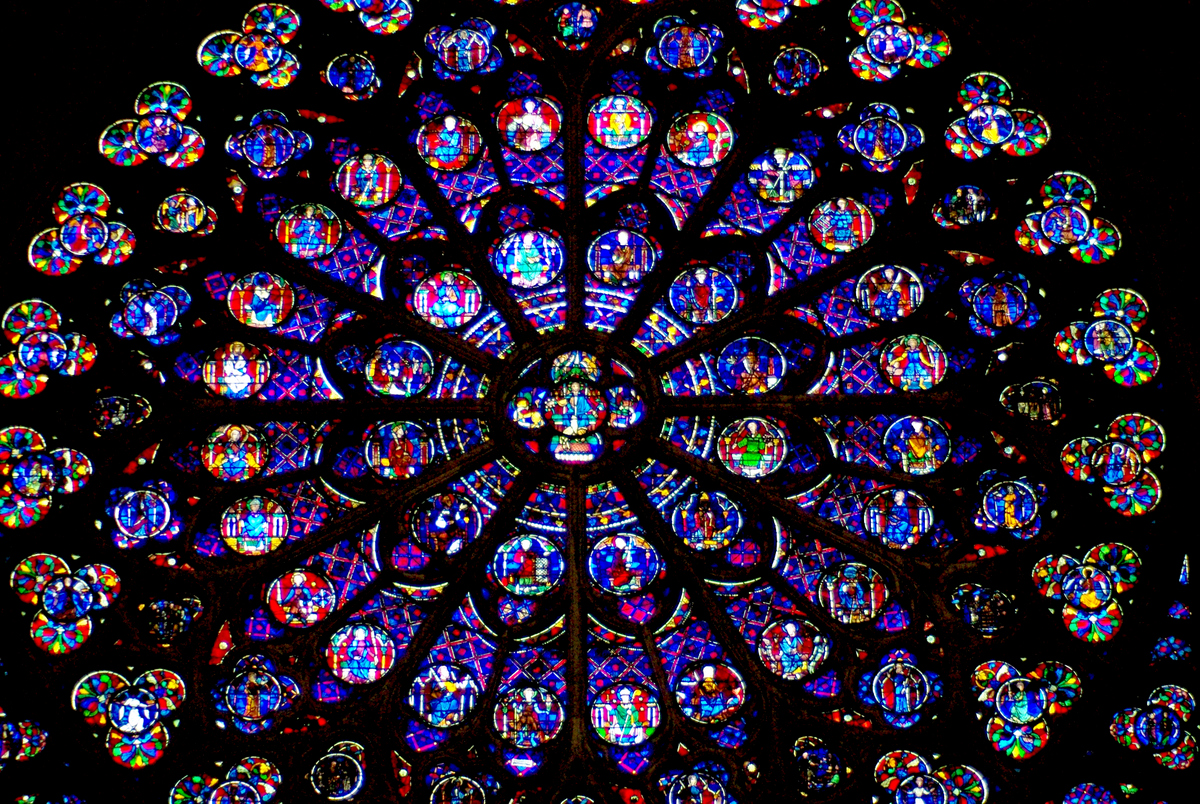 Rose Window - Notre-Dame de Paris © French Moments