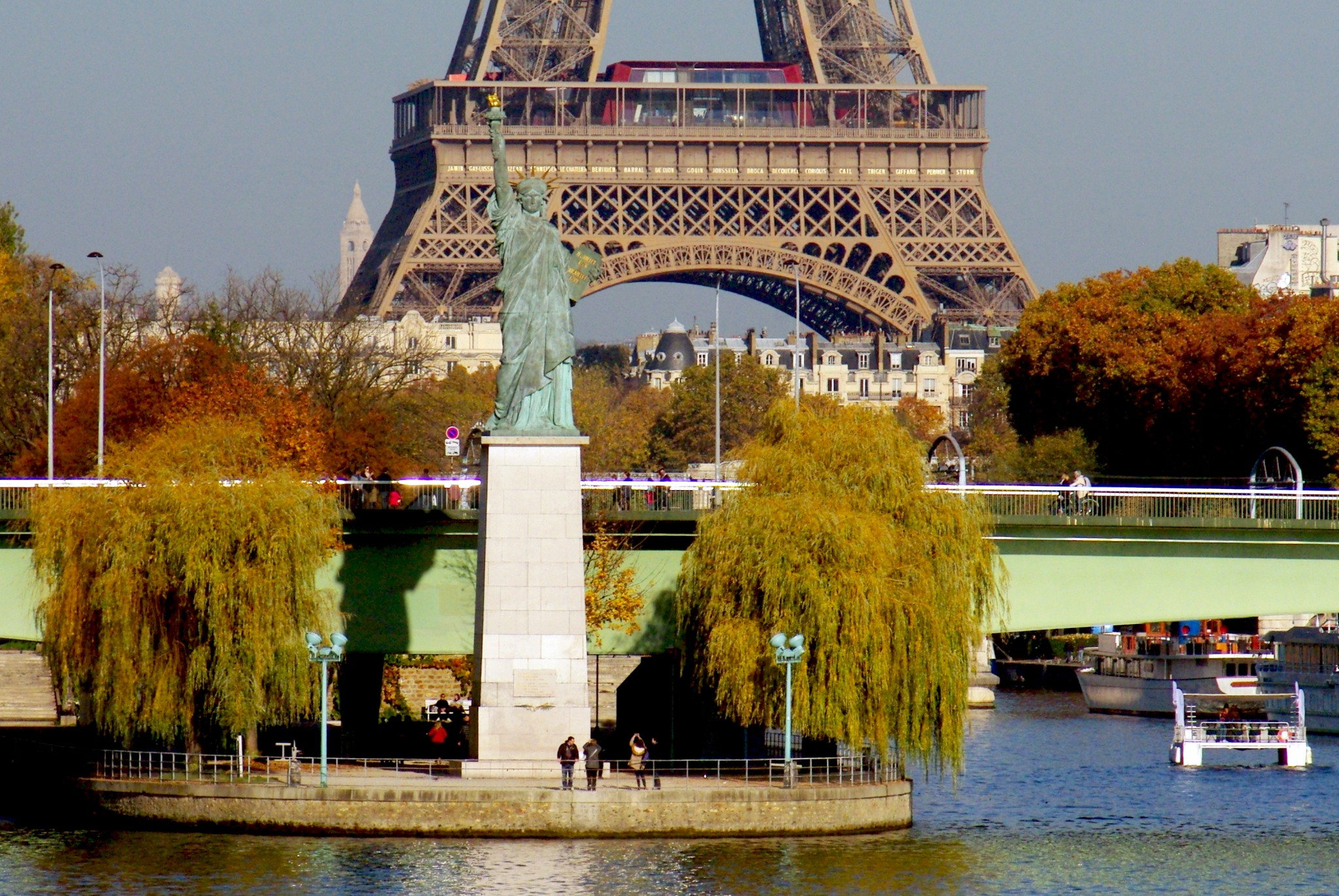 Statue of Liberty in Paris, France © French Moments