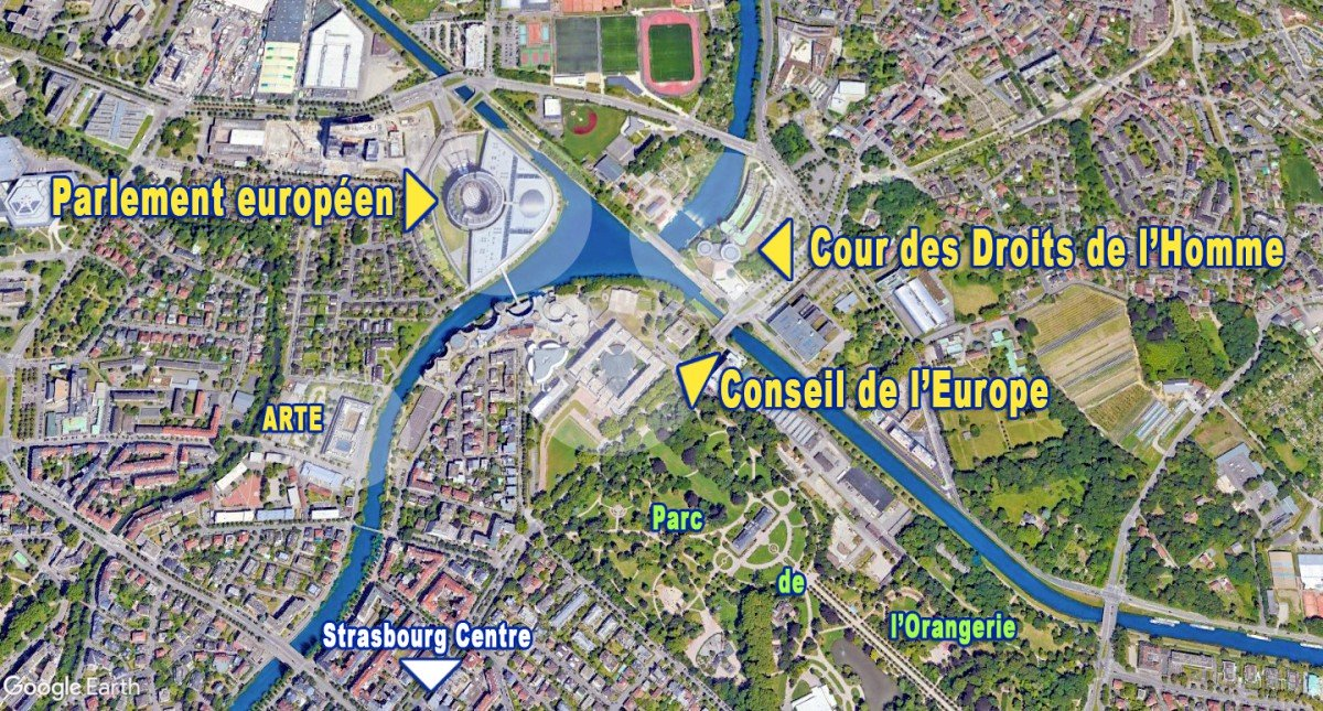 The European District in Strasbourg (by French Moments)