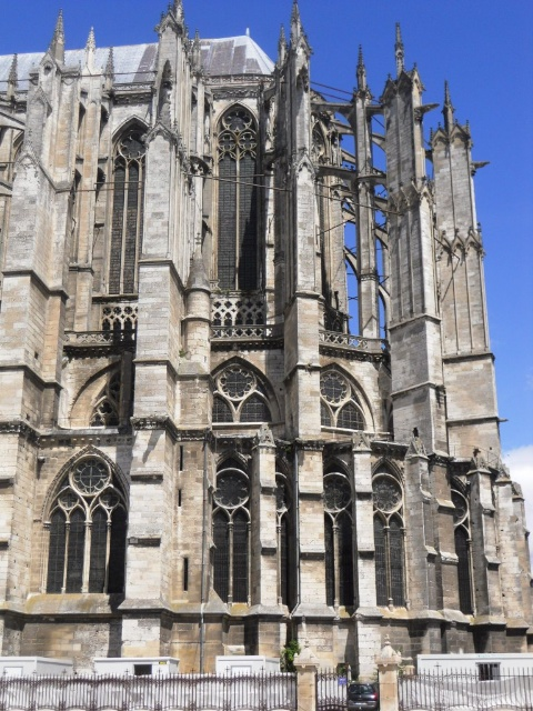 Chevet Of Beauvais Cathedral By Sokoljan Wikipedia