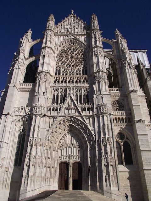 South Transept Of Beauvais Cathedral 169 Parsifall