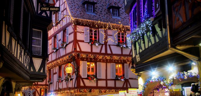 Christmas in Alsace, Rue des Marchands, Colmar © French Moments