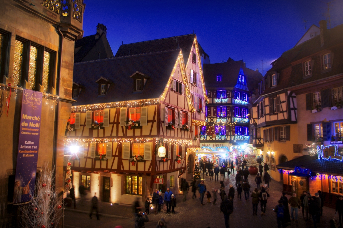 The festive season in Colmar © French Moments