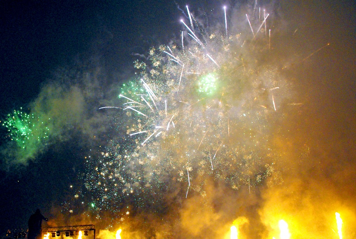 New Year's Eve fireworks © French Moments