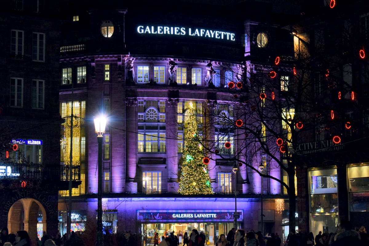 Les Galeries Lafayette, Strasbourg © French Moments
