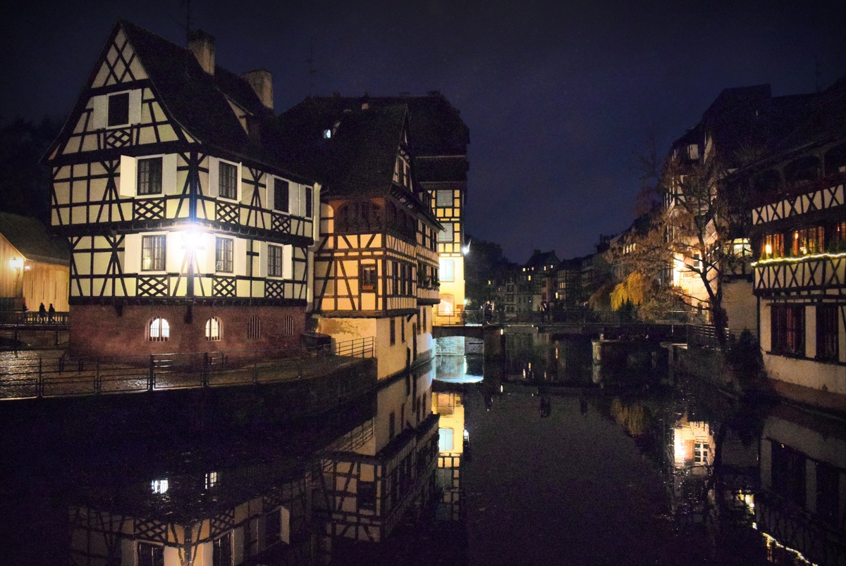 Petite-France district at Christmas time © French Moments