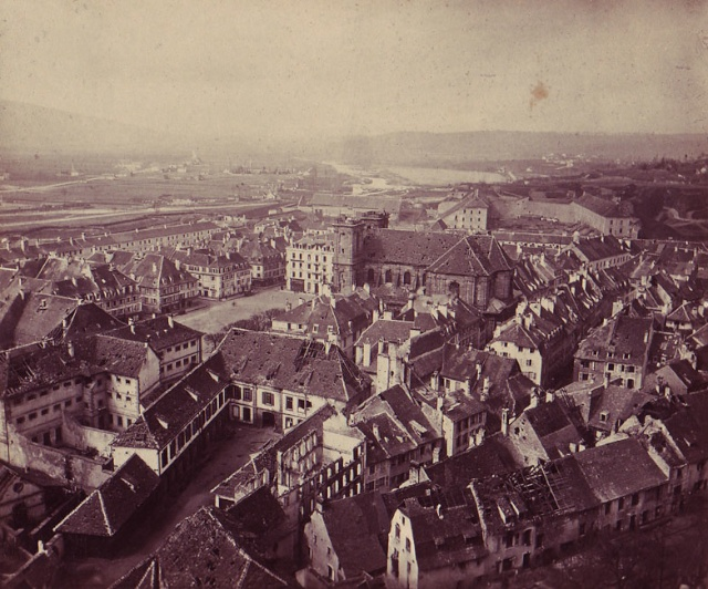 Belfort in 1871 after its long and heroic siege