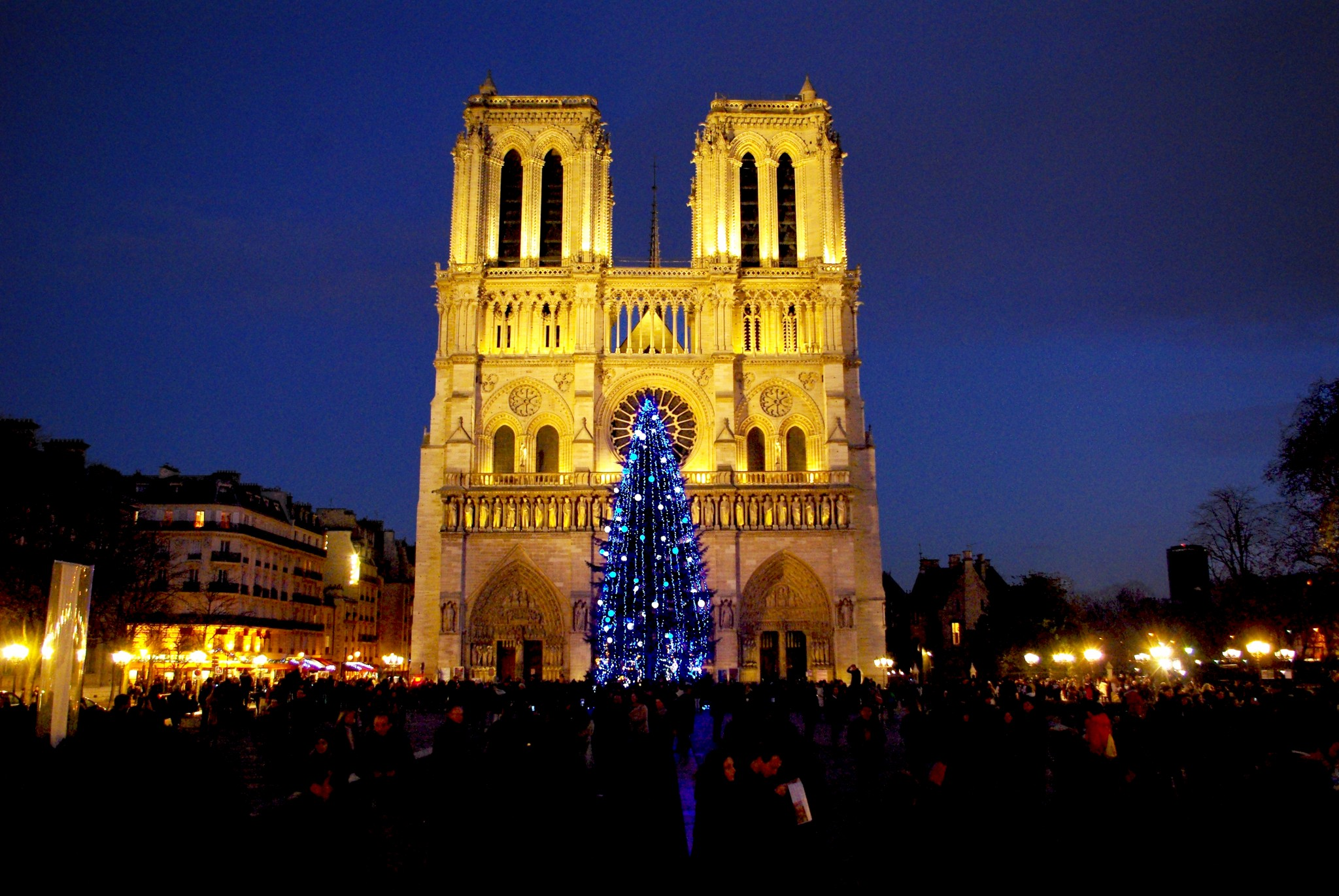 Notre-Dame de Paris at Christmas © French Moments