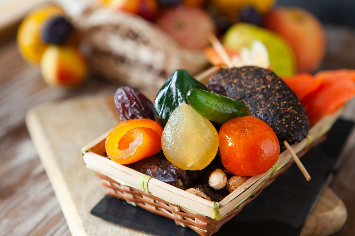 Glazed and candied fruits from Apt - Stock Photos from Maria Medvedeva - Shutterstock