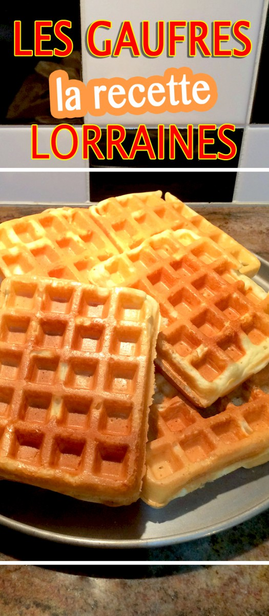 The Waffle recipe - easy and simple! © French Moments