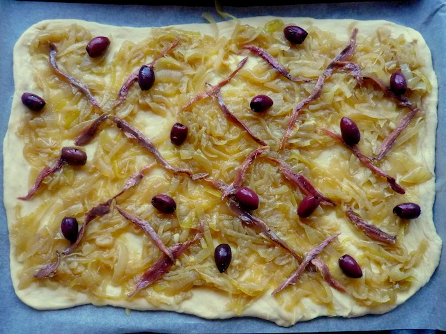 Homemade Pissaladiere © French Moments