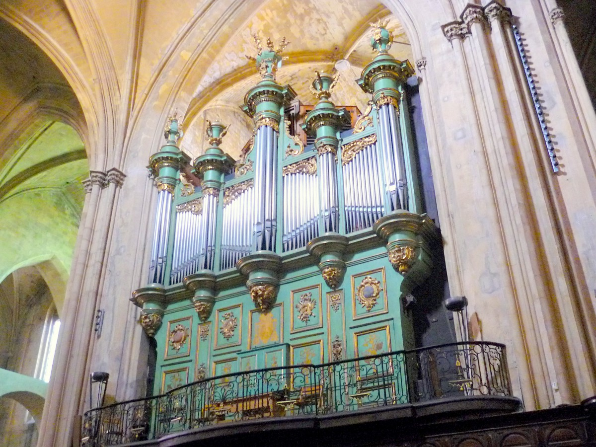 Great organ, Aix Cathedral © French Moments