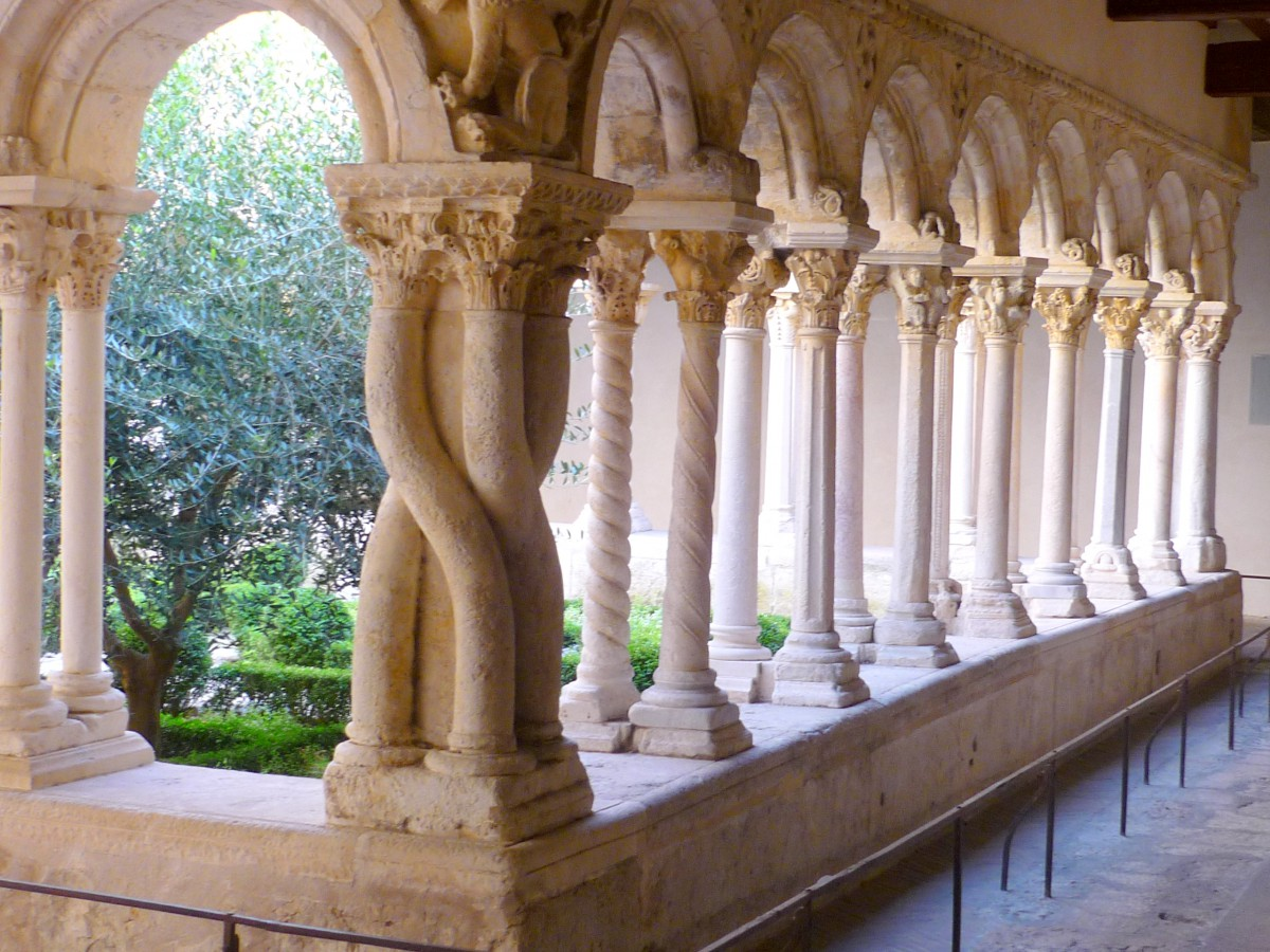 Aix-en-Provence Cathedral - the cloister © French Moments