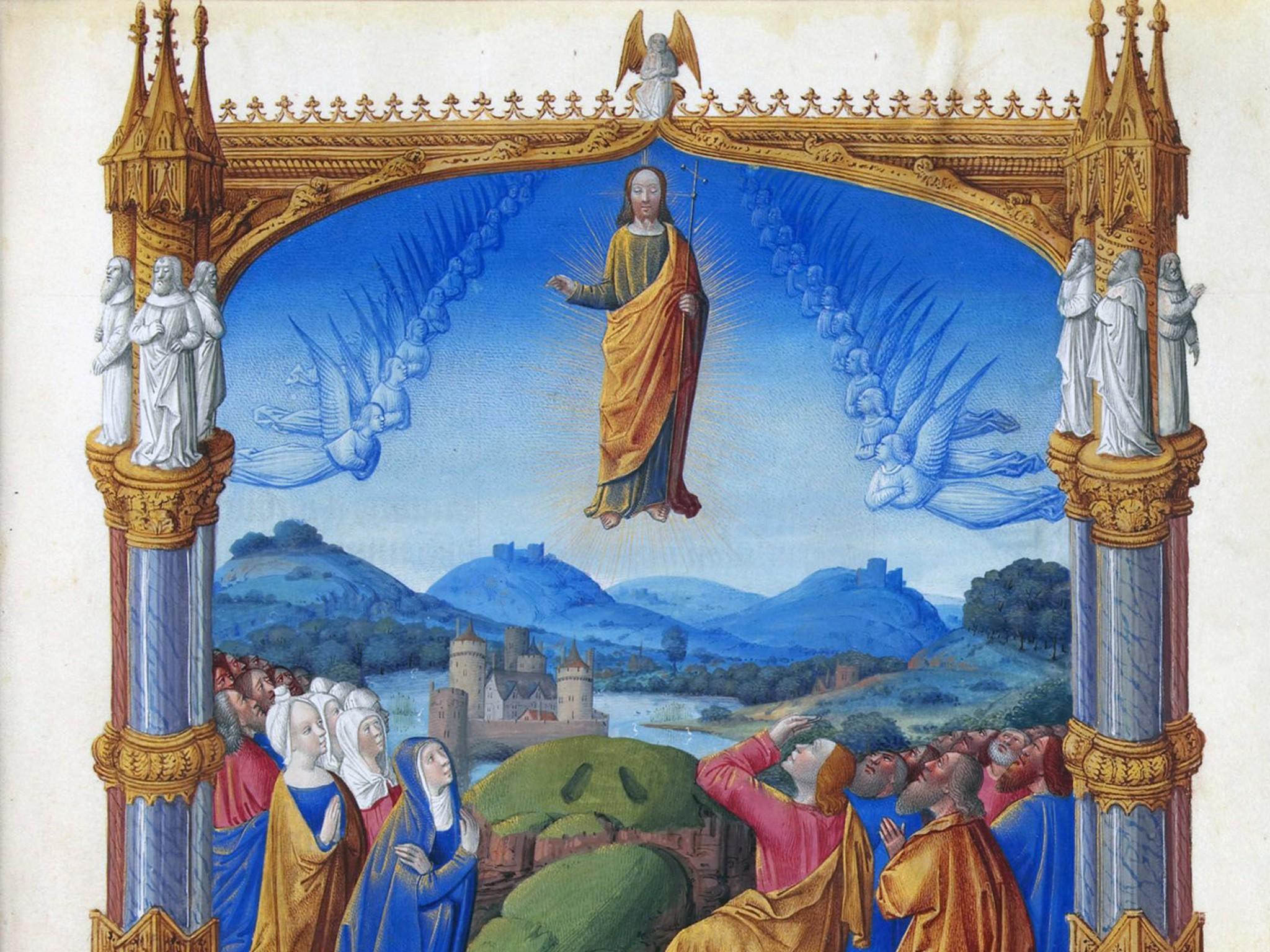 ascension day le jeudi de l 39 ascension french moments
