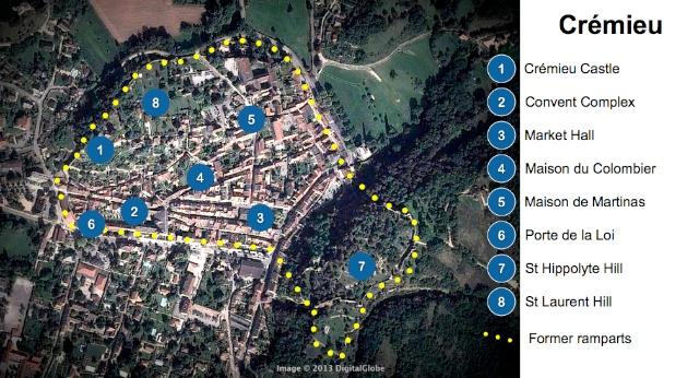 Crémieu Map Website